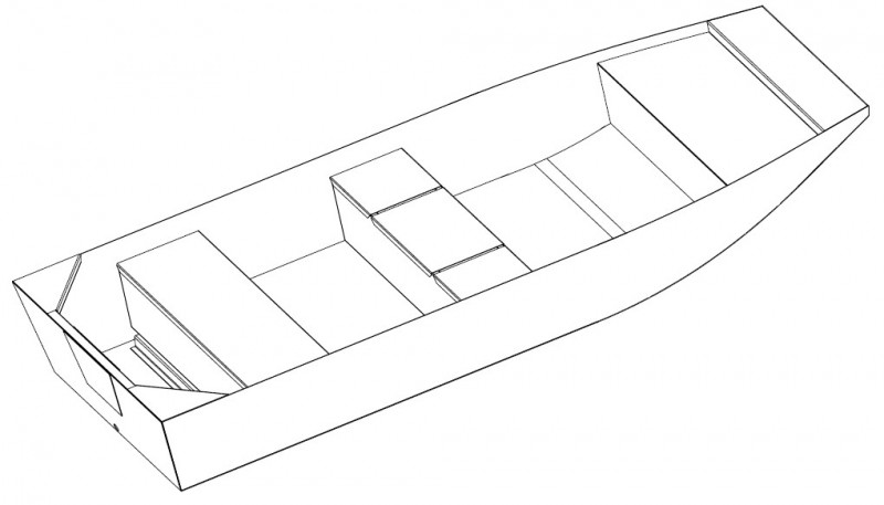 Aluminium-Boote Brema 450 F