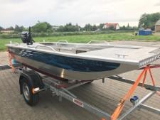 Aluminium-Boote Brema 600 F