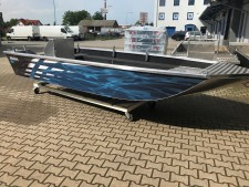 Aluminium-Boote Brema 480DV