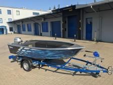 Aluminium-Boote Brema 390 V