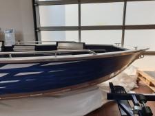Aluminium-Boote Brema 450 V